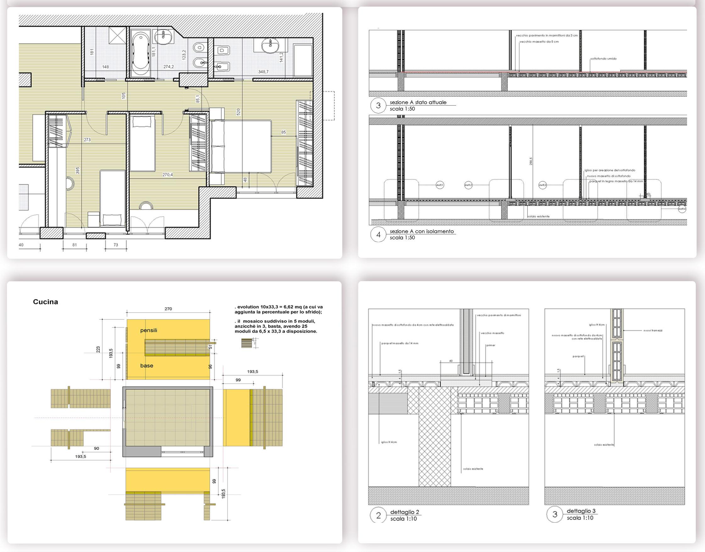 Progettazione interni for Progetti architettura on line